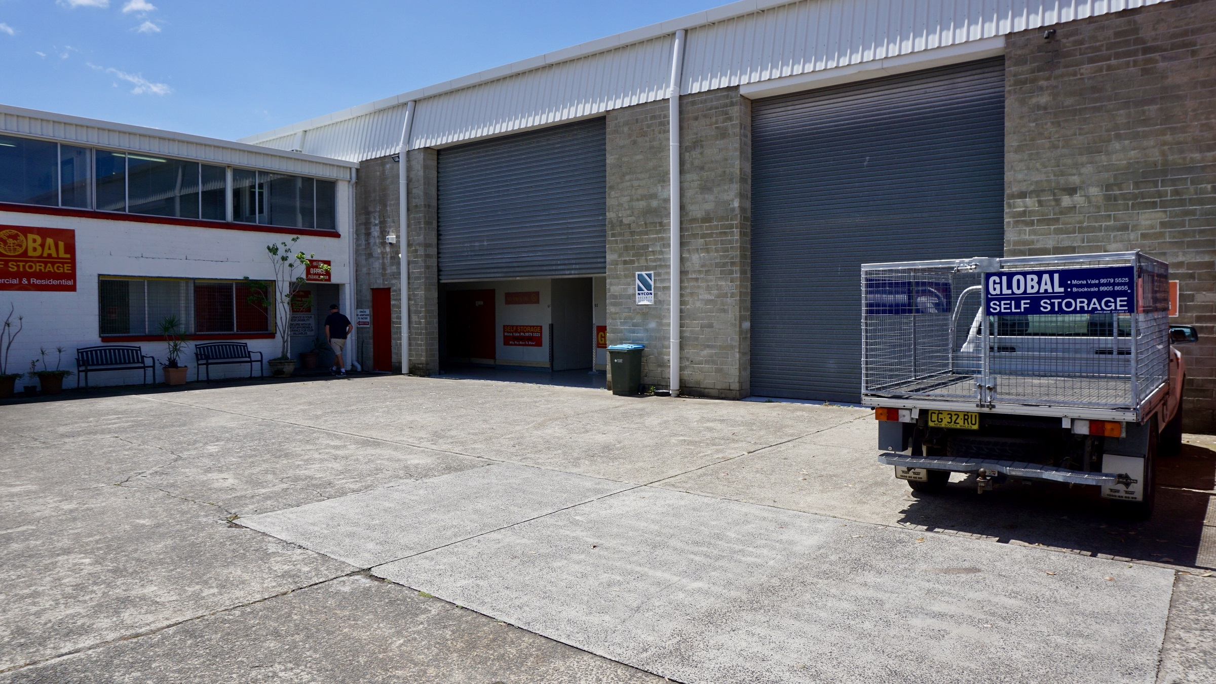 Global storage Mona Vale garage
